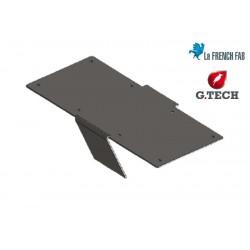 support de marche tôle pliée métal